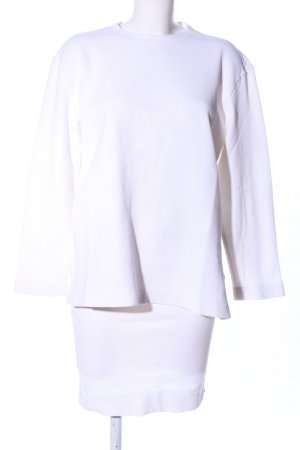 Marc Cain Twin Set tipo suéter blanco look casual
