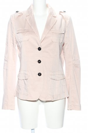 Marc Cain Jersey blazer wolwit casual uitstraling