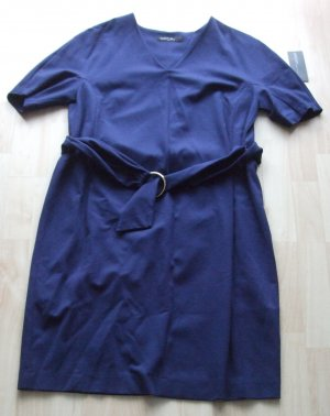 MARC CAIN Jerseykleid - blau Gr. 42 (N5)