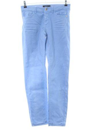 Marc Cain Spodnie karoty niebieski W stylu casual