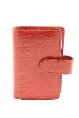 Marc Cain Porte-cartes rouge élégant