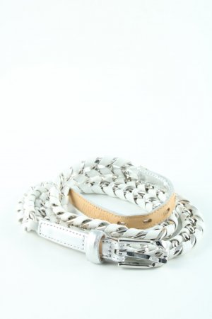 Marc Cain Chain Belt white-silver-colored casual look