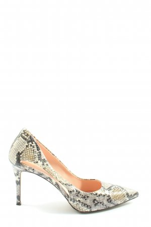 Marc Cain Classic Court Shoe allover print extravagant style