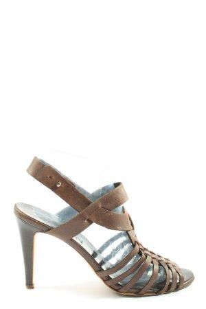 Marc Cain High Heel Sandaletten braun Elegant