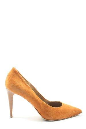 Marc Cain Classic Court Shoe light orange elegant