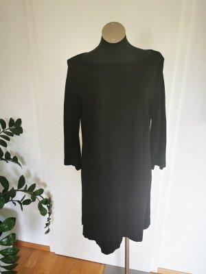 Marc Cain Sukienka z dżerseju czarny