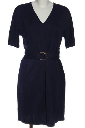 Marc Cain Shortsleeve Dress blue business style