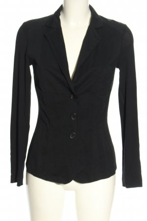 Marc Cain Kurz-Blazer schwarz Business-Look