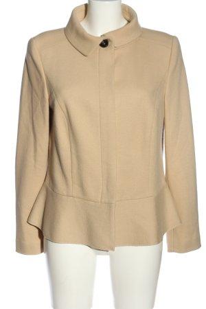 Marc Cain Krótki płaszcz kremowy W stylu casual