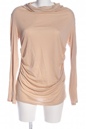 Marc Cain Langarm-Bluse nude Casual-Look