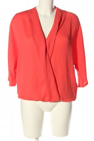 Marc Cain Langarm-Bluse rot Business-Look