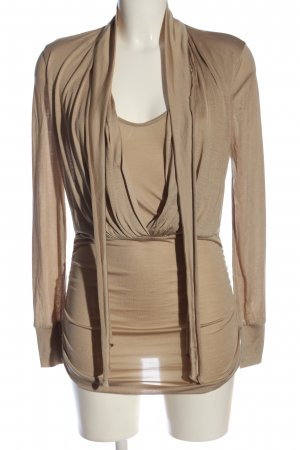 Marc Cain Langarm-Bluse creme Casual-Look