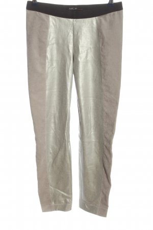 Marc Cain Leggings natural white-silver-colored casual look