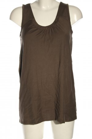 Marc Cain Top largo color bronce look casual