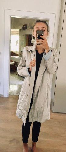 Marc Cain Manteau de pluie crème-bleu clair