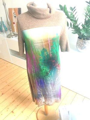 Marc Cain MarcCain Kleid, Wolle-Seide, braun, Gr 3 bzw 38