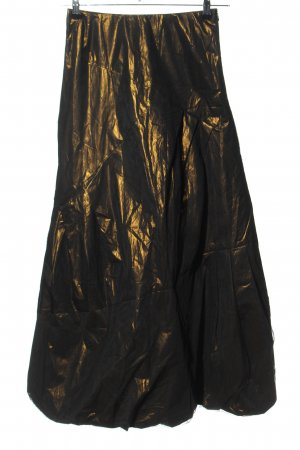 Marc Cain Maxi Skirt bronze-colored extravagant style