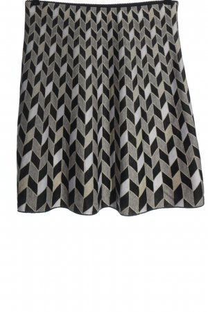 Marc Cain Midi Skirt check pattern casual look