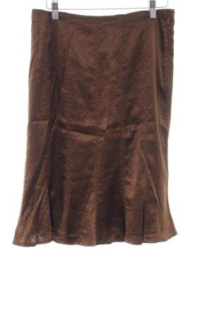Marc Cain Midirock bronzefarben Casual-Look