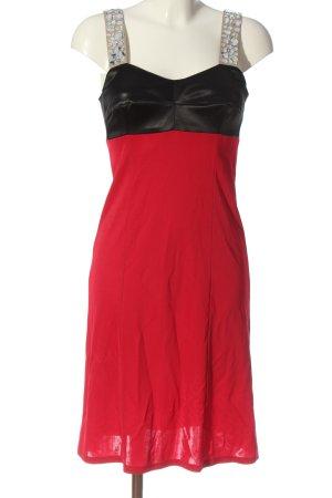 Marc Cain Minikleid rot-schwarz Elegant