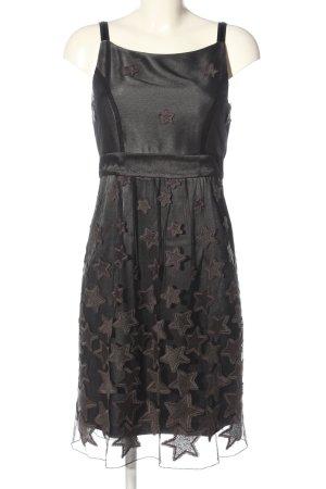 Marc Cain Minikleid schwarz-dunkelgrau Elegant