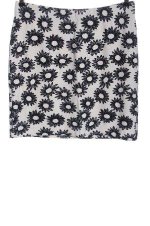 Marc Cain Mini rok wit-zwart volledige print casual uitstraling