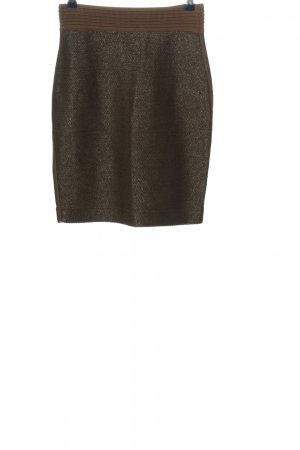 Marc Cain Mini rok bruin-khaki casual uitstraling