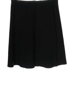 Marc Cain Mini rok zwart zakelijke stijl