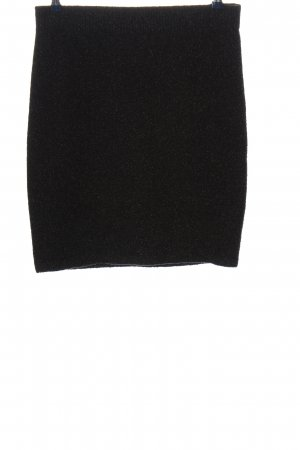 Marc Cain Mini rok zwart gestippeld casual uitstraling