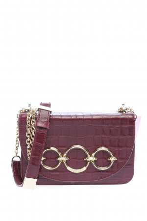 Marc Cain Mini Bag red animal pattern casual look