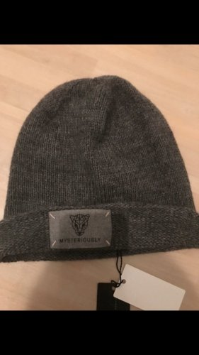Marc Cain Knitted Hat grey-dark grey