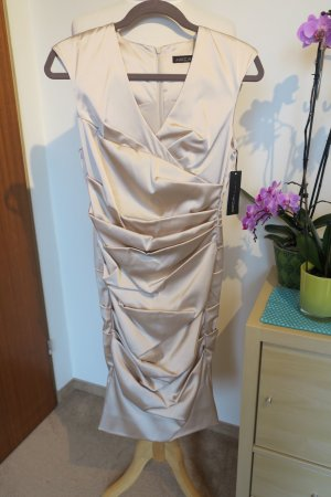MARC CAIN - NEU Stretchiges Kleid aus Satin, Gr N3 (38)