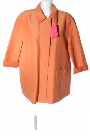 Marc Cain Oversized Jacke hellorange Casual-Look