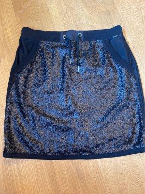 Marc Cain Mini rok donkerblauw
