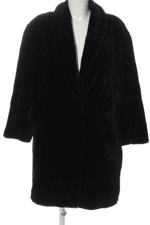Marc Cain Pelt Coat black casual look