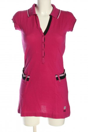 Marc Cain Polo Dress pink casual look