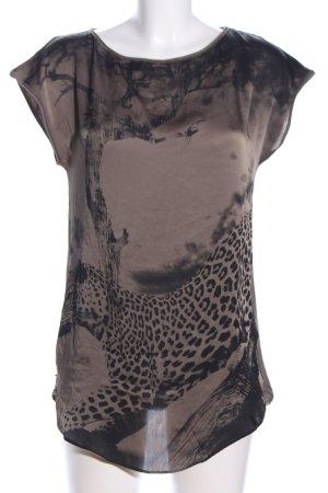 Marc Cain Print-Shirt braun Motivdruck Casual-Look