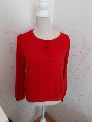 Marc Cain Fine Knit Jumper red