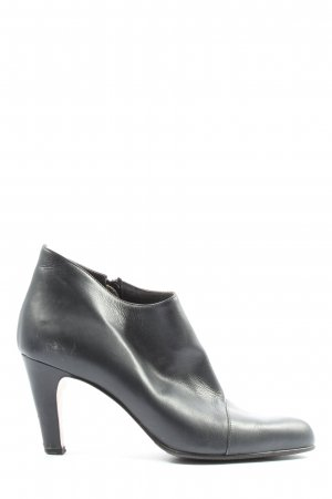 Marc Cain Zipper Booties black business style