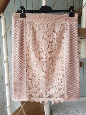 Marc Cain Lace Skirt dusky pink