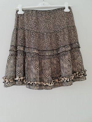 Marc Cain Broomstick Skirt black-cream