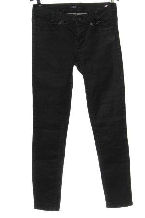 Marc Cain Spodnie rurki czarny W stylu casual