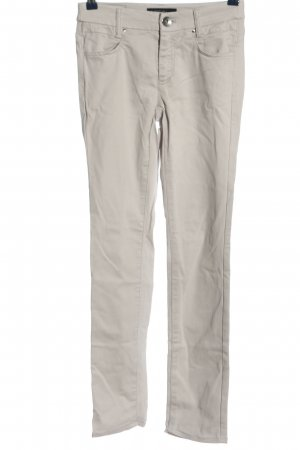 Marc Cain Drainpipe Trousers light grey casual look