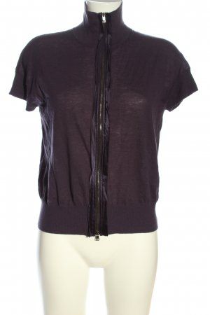 Marc Cain Turtleneck Shirt lilac casual look