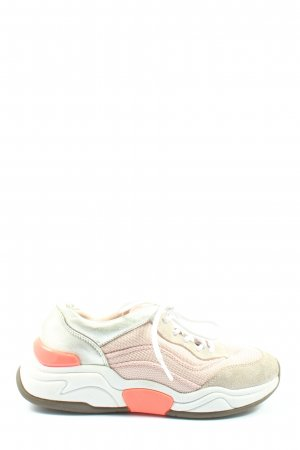 Marc Cain Lace-Up Sneaker multicolored wet-look