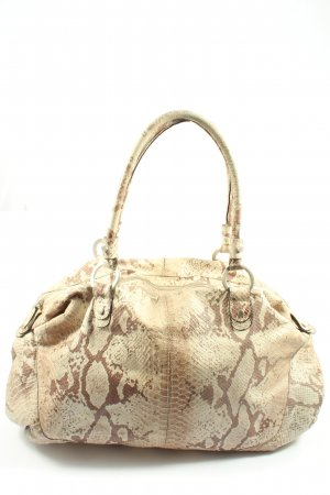 Marc Cain Schultertasche Allover-Druck Casual-Look