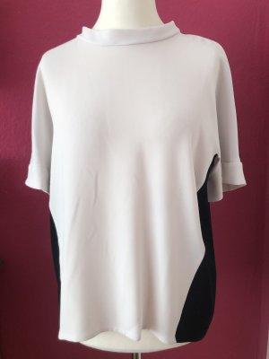 Marc Cain Shirt weiß-schwarz
