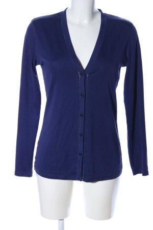 Marc Cain Veste chemise bleu style d'affaires