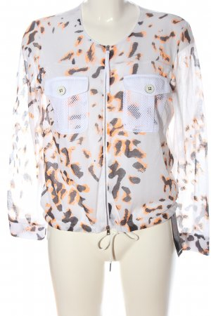 Marc Cain Shirt Jacket natural white-black leopard pattern casual look