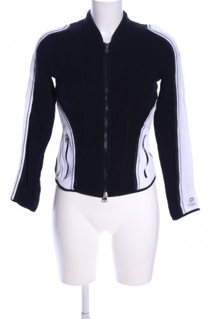 Marc Cain Shirt Jacket black-white casual look